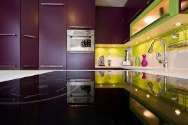 cuisine mur aubergine skconcept cuisine coloris pomme et aubergine