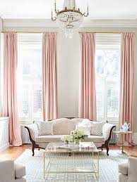 Pale Pink Curtains Decor Pastel Pink Silk Curtain Poly Dupioni Silk Window Dressing