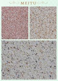 water based texture paint rough exterior paint colorful stone