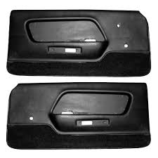 1970 Mustang Mach 1 Black Mustang Door Panel Deluxe Mach 1 Interior 1970 Cj Pony Parts