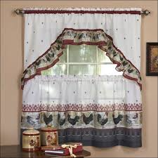 Contemporary Kitchen Curtains And Valances by Kitchen Grommet Curtains Curtains And Valances Farmhouse
