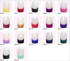 coloured nail tips nails art ideas