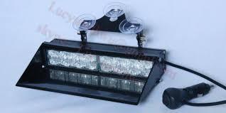 Led Emergency Dash Lights Head Warning High Power Strobe Flashing Deck Dash Light Led