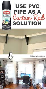 Curtain Rod For 12 Foot Window 29 Easy Spray Paint Ideas That Will Save You A Ton Of Money