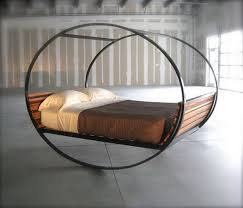 Circular Bed Frame Unique Bed With A Frame Creative So Does It Roll When I