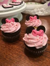 cupcakes minnie mouse cupcake for childs birthday vanilla cake