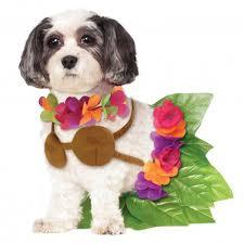 Halloween Pet Costume Rubie U0027s Hula Halloween Dog Costume Baxterboo