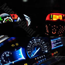 lexus rx 350 dashboard lights wljh car dashboard led t5 5050 smd wedge light gauge bulbs 74 37