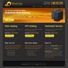 15 free web hosting html website templates