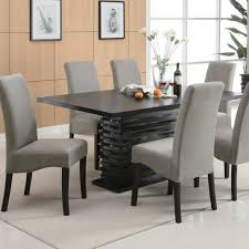 modern round dining room table decorating black modern dining table small modern dining room