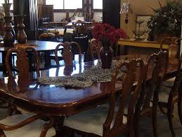 Mahogany Dining Room Table And 8 Chairs Consign Of The Times Mahogany Dining Room Table 8 Chairs