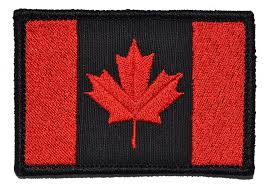 Canadian Flag Patch Canadian Flag Canada Maple Leaf 2x3 Military Patch Morale Patch