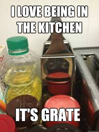 Cheese Grater Meme - i love being in the kitchen it s grate cheese grater monkey