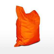 giant pillow bean bag orange home u0026 style