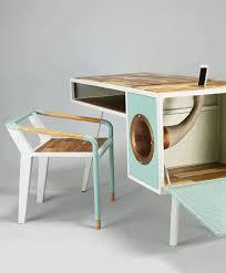 le bureau design projet étudiant le bureau soundbow rétro par jina u desks