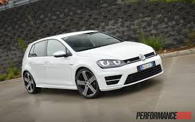 volkswagen white convertible 2014 volkswagen golf r mk7 review video performancedrive