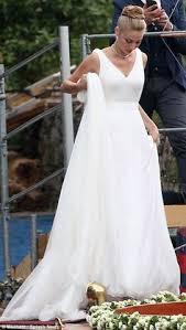 second wedding dresses northern 摩纳哥王子皮埃尔 卡西拉奇 casiraghi 与王妃比阿特丽斯 博罗