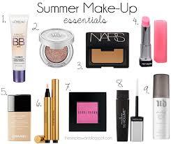 summer make up essentials