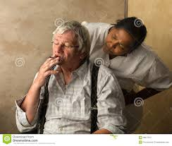 Home Nurse by Angry Nurse And Old Man Stock Photo Image 59977612