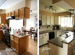 cheap kitchen makeover ideas before and after diy kitchen remodel on a budget before and after budget friendly