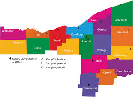 Canton Ohio Map by About Gsneo Scouts Of North East Ohio