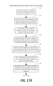 patent us8798593 location sharing and tracking using mobile