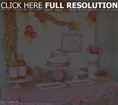 homemade baby shower decorations for tables zone romande decoration
