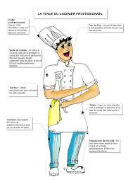 la cuisine professionnelle pdf autour de la gastronomie la tenue du cuisinier fiche brigade de