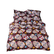 online get cheap skull bed sheets king size aliexpress com