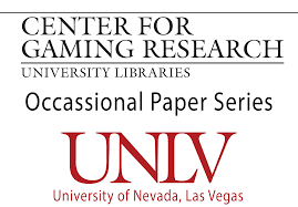 unlv center for gaming research occasional paper series