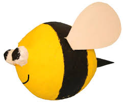 bumble bee pinata paper mache craft