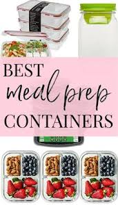 fitness meal prep containers for healthy living portion control