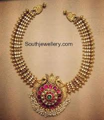 jewelry indian necklace images Gold jewellery designs indian jewellery south indian jewellery jpg