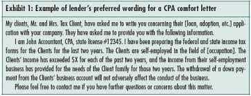 Certification Letter Sles Concerns About Cpa Letters To Third Parties