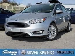 ford focus titanium silver 2016 ford focus for sale silver md