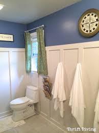 Diy Kids Bathroom - before u0026 after kids u0027 bathroom makeover reveal thrift diving blog