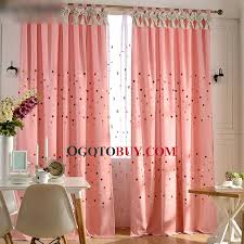 Red Polka Dot Curtains Colorful Polka Dot Linen And Cotton Pink Girls Bedroom Curtains