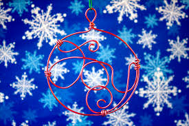 ornament countdown wire wrapped the crafty