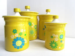 yellow canister sets kitchen 1529 best c a n n i s t e r s e t s images on kitchen