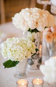 White Rose Centerpieces For Weddings by Rose Wedding Centerpieces