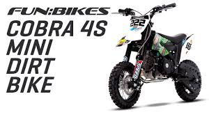 motocross bike makes funbikes cobra 2s 50cc 61cm kids mini dirt bike youtube