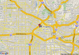 map of downtown los angeles map of the standard downtown la los angeles