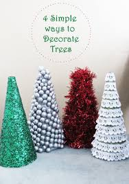 simple ways to decorate trees simplistically sassy