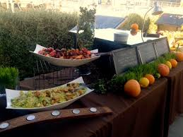 Field To Table Catering Tolosa Winery Rehearsal Dinner Field To Table Catering