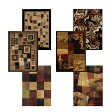 Squares Area Rug Glamorous Geometric Pattern Area Rug Pictures Design Inspiration