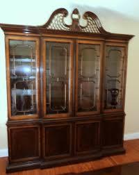 drexel heritage mahogany china cabinet bar cabinet