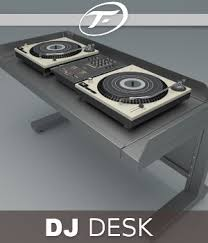 Dj Desk Dj Desk 3d Models Truform