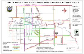 Truck Route Maps Contact Us
