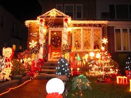 Christmas Lights On House by Christmas Lights Outdoor Light Thrift Christmas Lights Dyker