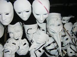 blank masks venice ii mask culture ex urbe